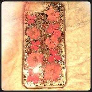 iPhone 8 Plus Phone Case - Real Pressed Flowers🌸